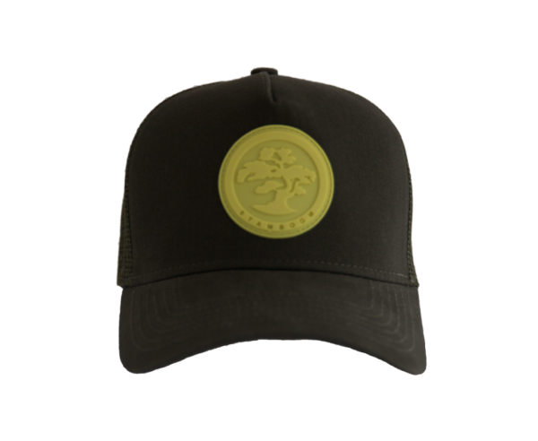 Cap dark green - Think Positive